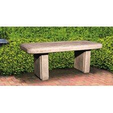Traditional Stone Garden Bench by Henri Studio