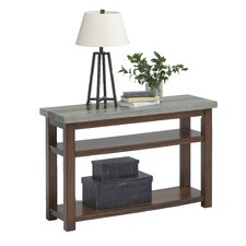 Nikole Console Table by Union Rustic