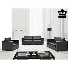 Quick View Mojokerto European 3 Piece Leather Living Room Set