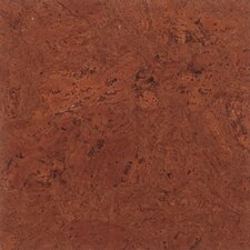 "Floor Tiles 12"" Cork Flooring in Mirage Brown"