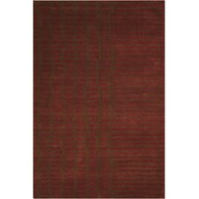 Luster Wash Everglade Brick Area Rug