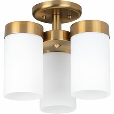 Elevate 3-Light Semi Flush Mount