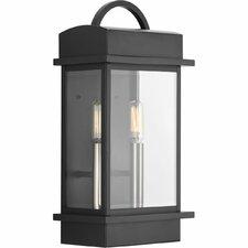 Santee 2-Light Outdoor Wall Lantern