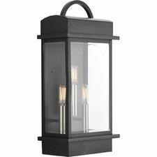 Santee 3-Light Outdoor Wall Lantern