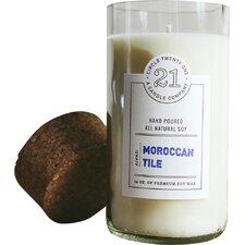 Moroccan Tile Votive Candle