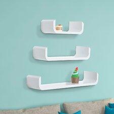 3 Piece Floating Shelf Set