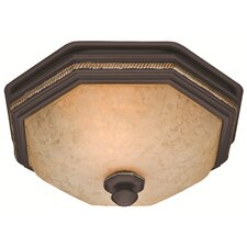 Bathroom Fans You'll Love | Wayfair:Belle Meade 80 CFM Bathroom Fan with Light,Lighting