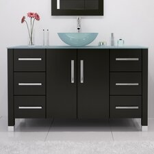 Grand Crater 47.25 Single Bathroom Vanity Set by JWH Living