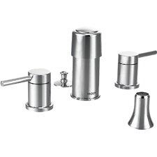 Align Double Handle Vertical Spray Bidet Faucet