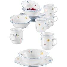 Sonate Nostalgie 18 Piece Porcelain Breakfast Set