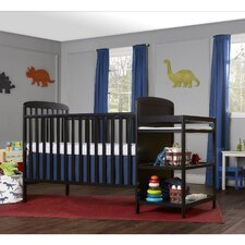 Full Size 4-in-1 Convertible 2 Piece Crib Set