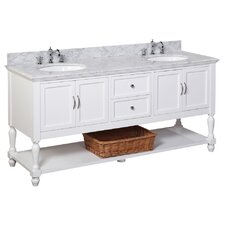 Beverly 72 Double Bathroom Vanity Set by Kitchen Bath Collection