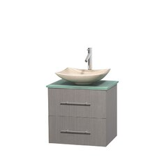 Centra 23 Single Bathroom Vanity Set by Wyndham Collection