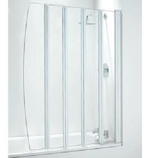 141.7cm x 106.6cm Folding Bath Screen