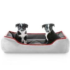 Reversible Waterproof Bolster Dog Bed
