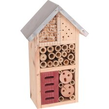 The Lodge Insect Hotel 26cm x 15cm x 9cm Bumblebee House