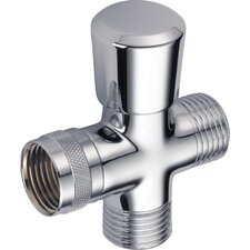 Universal Showering Components Shower Arm Diverter Valve