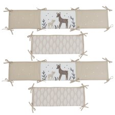 Meadow 4 Piece Crib Bumper by Lambs & Ivy