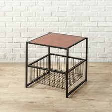 Modern Studio End Table by Zinus