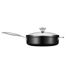 Toughened Non-Stick Saute Pan with Lid
