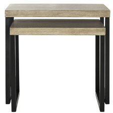 Abrianna 2 Piece Nesting Tables by Williston Forge