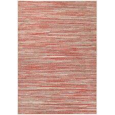 Dobbs Sand/Maroon Indoor/Outdoor Area Rug by Varick Gallery®