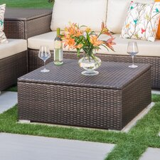 Friddle Wicker Coffee Table by Varick Gallery