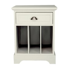 Fleming Partitioned End Table by Beachcrest Home