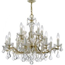 Griffiths 12-Light Crystal Chandelier