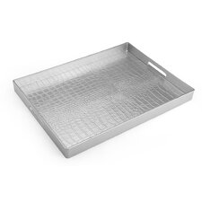 Croc Skin Serving Tray