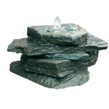 Natural Stone AquaRock Garden Fountain Kit