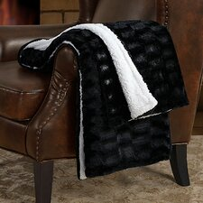Sable Sherpa Throw