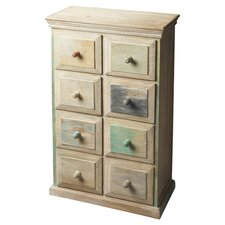 Braden Painted Wood 8 Drawer Chest by Mistana