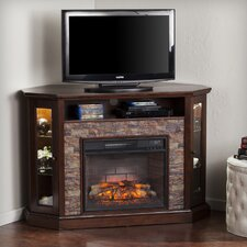 "Montpelier Corner Convertible 50"" TV Stand with Electric Fireplace"