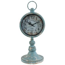 Traditional Metal Table Clock