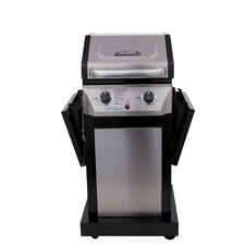 Thermos 2-Burner Propane Gas Grill with Cabinet