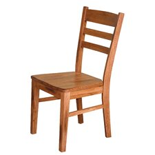 Fresno Ladder Back Solid Wood Dining Chair