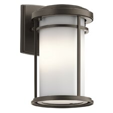 Scot 1-Light Glass Shade Outdoor Sconce