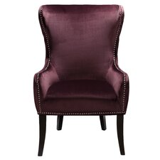 Catalina Traditional Wing Back Chair by House of Hampton