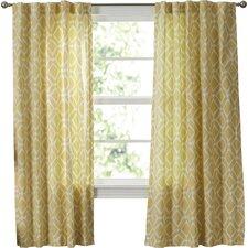 Greve Strand Diamond Single Curtain Panel
