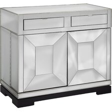 Persei Rolling Bar Cabinet by Latitude Run