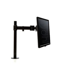 "Single Articulating/Extending Arm Desktop Mount for 13""-27"" Flat Panel Screens"