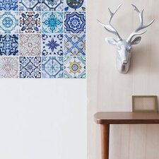 Mosaic Tile Wall Stickers (Set of 4)
