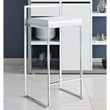 """27"""" Square Stainless Steel Bar Stool (Set of 2)"""
