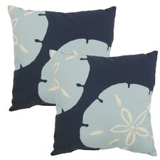 Paulita Outdoor Throw Pillow (Set of 2)