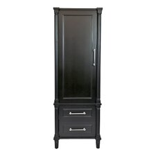 Continental 2 Drawer and 1 Door Accent Cabinet by LUXE by Deluxe Vanity