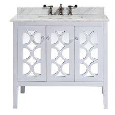 Mediterraneo 36 Single Bathroom Vanity Set by LUXE by Deluxe Vanity