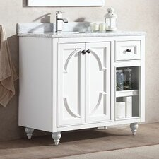 Odyssey 36 Single Bathroom Vanity Set by LUXE by Deluxe Vanity