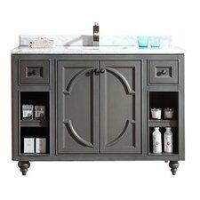 Odyssey 48 Single Bathroom Vanity Set by LUXE by Deluxe Vanity