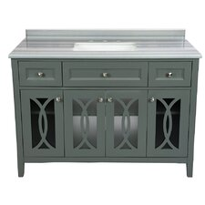 Grazia 49 Single Bathroom Vanity Set by LUXE by Deluxe Vanity